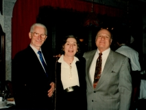 Florence Wolsky, Walter Persegati, and Howard Weintraub