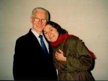 Florence Wolsky and Walter Persegati