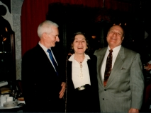 Florence Wolsky, Walter Persegati, and Howard Weintraub