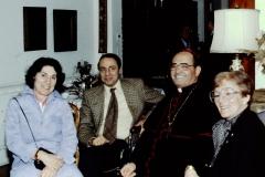 Florence Wolsky at Cardinal Caprio Reception