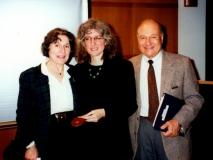 Florence Wolsky, Lisa Khan, and Howard Weintraub