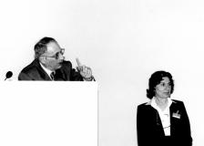 Florence Wolsky and Baldo Conticello