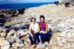 Gournia - Palace with Mycenean Tombs - Crete - 1971