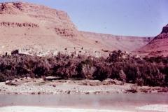 Ziz River - Ziz Oasesw - Morocco - 1972